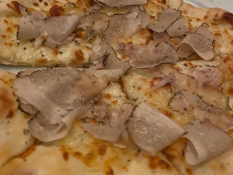 Trüffelpizza